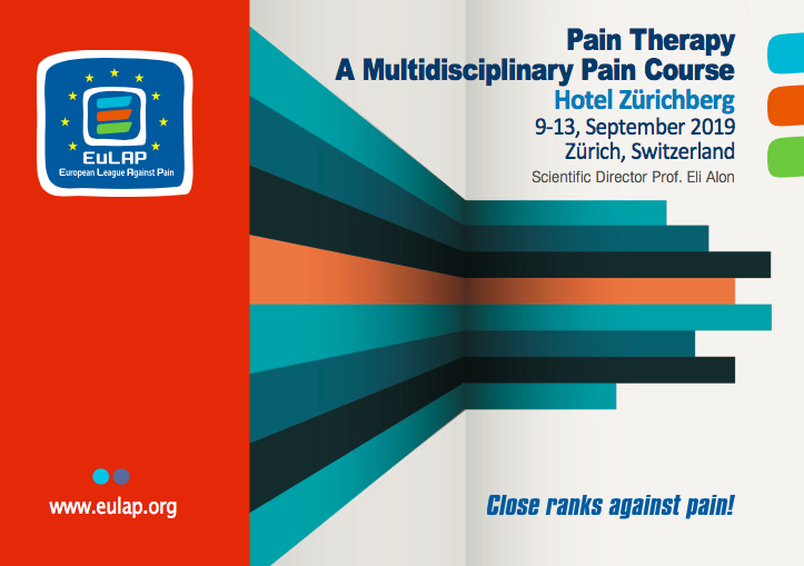 eulap Pain course 2019 cover